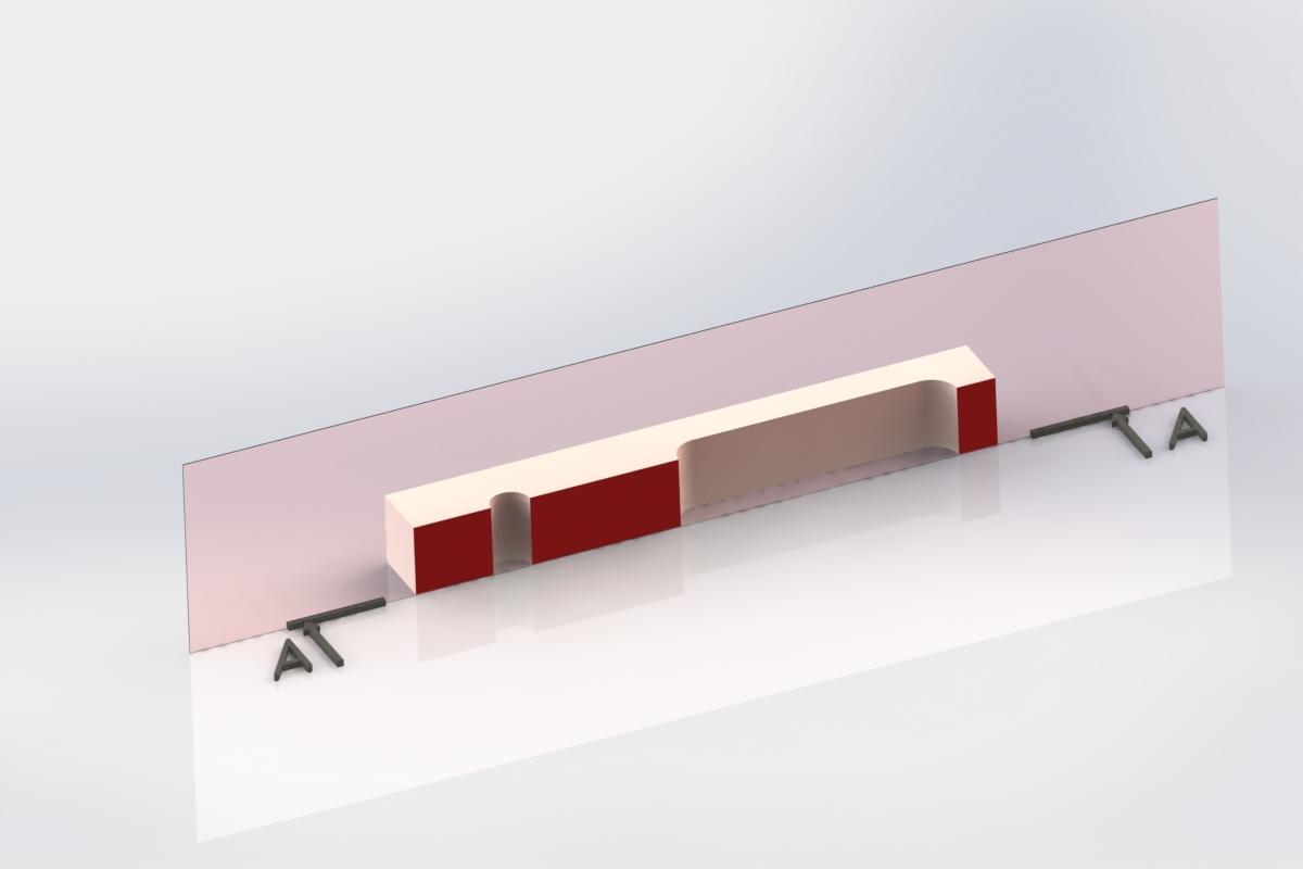 Визуализация простого разреза на 3D модели